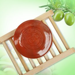 Wholesale Almond Oil Soap Moisturizing Regulating Skin Whiteing Soap Face or Body Bath Cleanser Essential Oil Handmade Soap