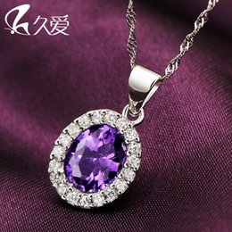 Long love 925 Silver Necklace Pendant Chain Silver Mirror Female Lady silver jewelry sweater chain