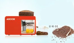 Wholesale Aboom Cold Pressed Flaxseed Oil Machine Automatic Home Oil Press to Make Fresh Oil with High Oil Exact for Kinds of Oil Plants