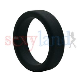 Wholesale 100 Silicone Smooth Touch Time Delay Penis Rings Cock Rings Adult Products Sex Toys for Male