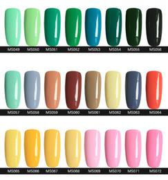 Wholesale 2015 Hottest item Gelish Nail Polish Soak Off Nail Gel For Salon UV Gel Colors ml supply