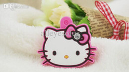 Wholesale-Kawaii 4CM Hello Kitty Rubber KEY Cover Shell Chain Pendant Hook Cap Case ; Key Cover Coat Wrap Coat Cover KEY CAP