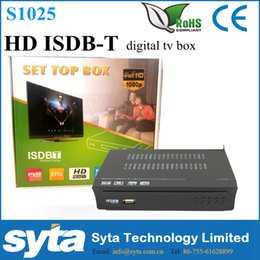 Wholesale Full HD ISDB T Digital TV Converter Box and Media Player ISDB T Set Top Box For Brazi Peru Argentina Chile