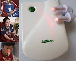 Wholesale Health Care BioNase Rhinitis Sinusitis Nose Therapy Massage Device Cure Hay fever Low Frequency Pulse Laser Therapentic Masseur