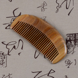 Moon Shape Verawood Comb Romove Lice Healthy Massage Hair comb Brush Care Styling Tools Natural Wood Comb