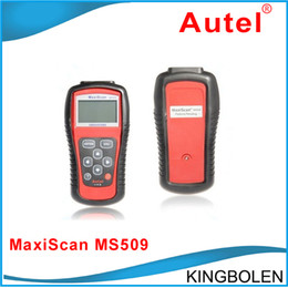 Wholesale Autel MaxiScan MS509 Automotive Diagnostic Equipment Scanner Detector OBD SCAN TOOL MS Car Fault Detector