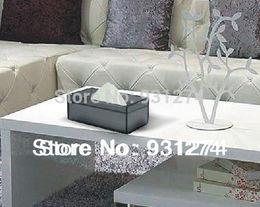 Wholesale Brand Stylish Acrylic tissue box napkin holder Modern tissue case napkin box Luxury home kitchen bar accessories