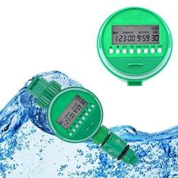 Wholesale 1Set Home riego automatic temporizador programador riego Garden Water Timer Irrigation Controller Set Water Programs
