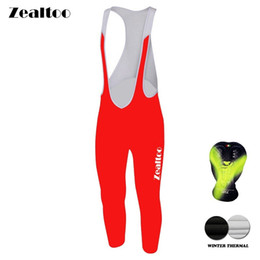 Winter Thermal Fleece Cycling Long Bicycle Bib Pants 3D Gel Pad Bike Bib Tights Mtb Men Ropa Ciclismo Cycling pants