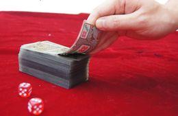 Wholesale - 148 Zhang Crystal mahjong poker Mini Travel Size: 52*95mm