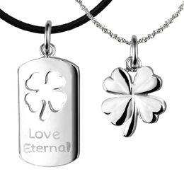 925 sterling silver necklace crystal jewelry pendant statement necklace swarovski elements infinity wedding vintage clover flower couple