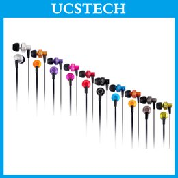 Wholesale High Class Mono Audio Headphones Good Quality Wired Earphones New Fashion Colorful Wired Earphone for Iphone ES900M