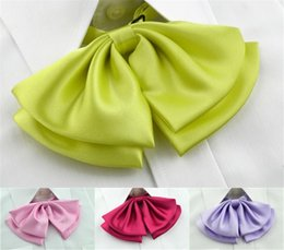 Wholesale shirt bow tie wear work clothes hotel bank shirt collar solid color flower accessories