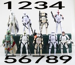 Free Shipping 2016 New Design Star Wars Stormtrooper Clone Trooper PVC Action Figures Collectible Model Toys 15cm