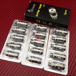 Wholesale Original Tobeco Mini Super Tank Coils Sub Ohm Ohm Electronic Cigarette Replacement Coils Super Tank coil