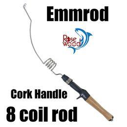 Emmrod canne à pêche pour la pêche sur la glace pêche à la mouche appâts coulée tige à la traîne à partir de mini-roches fabricateur