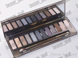 Factory Direct DHL Free Shipping New Makeup Eyes Nude Smoky Palette 12 Color Eye Shadow!12X1.3g