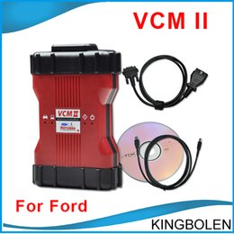 Wholesale 2015 New Arrial Ford VCM II IDS V96 languages OEM Level Diagnostic Tool support ford Mazda vehicles OBD2 Scanner VCM2 DHL Free