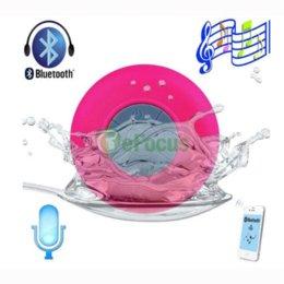 Mini Waterproof Wireless Bluetooth Handsfree HIFI Mic Suction Speaker Car Shower #52550 speaker electronic speakers angel