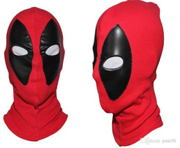 Deadpool Mask JLA Balaclava Halloween Costume party Cosplay X-men hooded cap adults children Hat easter horror flim cartoon Full Face Mask