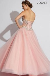 Wholesale vestidos de festa bandage new fashion pink crystal long chiffon hot sexy Quinceanera Dresses prom gown