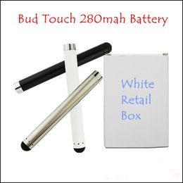 Bud Touch Battery 280mah 3.3v-4.2v Exactly Suitable for Bud Touch Atomizer Superslim Design Battery for Women's Electronic Cigarette Battery
