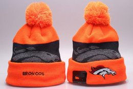 Wholesale New Winter Wool Soccers Hats Broncos Beanies