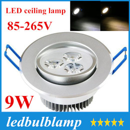 CE RoHS ETL 3 Year Warranty 3x3W 12V LED Ceiling Light Lamp 9W Recessed Lighting Fixture For Living Room+CE ROHS