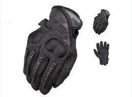 OEM Mechanix Wear M-Pact 3 Knuckle Protection Motorcycle Tactical army Cycling Full Finger Gloves Airsoft racing