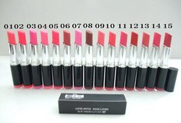 Wholesale 2015 Fashionable brand lipstick makeup lip stick matte colors best selling supply