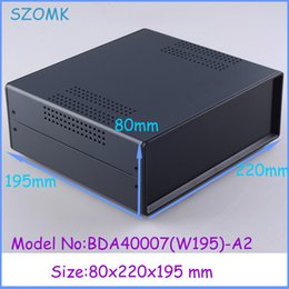 Wholesale good quality iron case electronics box enclosure case x220x195mm iron project box distribution box electronics outlet enclosures