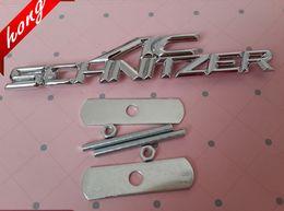 Wholesale Exterior Accessories Car Stickers AC SCHNITZER D Chrome Metal Grill m3 m5 X1 X3 X5 X6 E36 E39 E46 E30 E60 E92