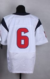 Wholesale football jerseys Houston Brian Hoyer blue home white away Texans jersey