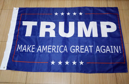 Wholesale Donald Trump x5 Foot Flag Make America Great Again Donald for President USA