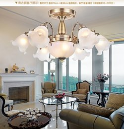 Creative indoor light luxury Wrought Iron chandelier led Hanging Lights Living Room Lighting country style chandelier#F9023