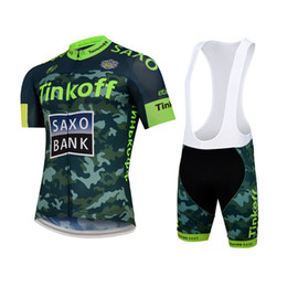 2015 TINKOFF SAXO BANK TEAM FLUO GREEN S026 Short Sleeve Cycling Jersey Bike Bicycle Wear + BIB Shorts Size XS-4XL