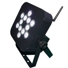 Free shipping LED Stage Lighting 12X15W RGBAW UV 6in1 Battery powered LED wireless uplights for Wedding