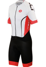 Wholesale-New 2015 Super Black Speedsuit Team Shorts and Tights Cycling Skinsuit Men's Triathlon Sports Clothing Ropa De Ciclismo