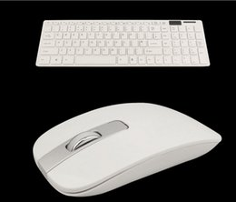 Wholesale 2 GHZ WIRELESS KEYBOARD BLACK CORDLESS OPTICAL MOUSE SET FOR PC LAPTOP