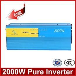Wholesale 2000W puhdas aalto invertteri DOOR TO DOOR V DC to AC Solar Inverter W Pure sine wave power inverter
