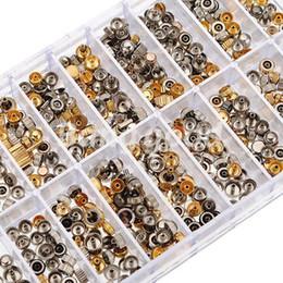 Regarder des pièces de réparation en Ligne-50g Montre chef Pièces Couronnes GoldSliver mixte Set Kit accessoires partie outil de réparation pour Horloger taille aléatoire Livraison gratuite