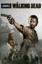 Wholesale 2014 Hot Sale AMC Walking dead posters Prints high quality picture nice movie style custom poster x75cm C171