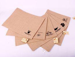 Wholesale Storage linen cotton placemats SHYP0739