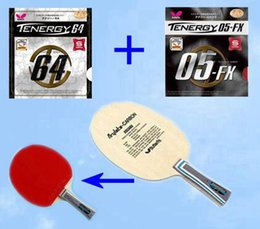 Wholesale Butterfly Table tennis blade Ping Pong Bat Tenergy Fx yasaka Rubbers
