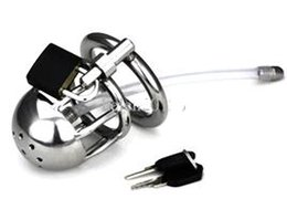 Hot GAY SM Fetish New birdlock cage  PENNIS CAGE Stainless steel Male Boundage chastity device Short Cage Gimp New