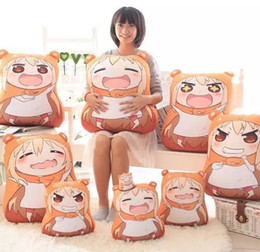 Wholesale 32 cm Sankaku Head Himouto Umaru Chan Umaru Doma Cosplay MARMOT Short Velvet Puppets And Humanoid Doll New