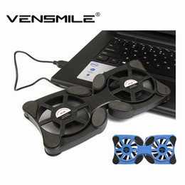 Wholesale Hot selling Vensmile USB Mini Octopus Laptop Notebook Fan Cooler Cooling Pad Folding Coller Fan With Retail Box T0011