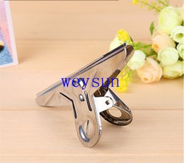 Wholesale Maximum Big Grip Clips Bulldog Clips Letter Clips Silver Metal Paper Clip Size MM