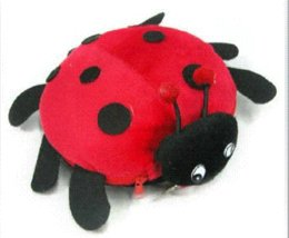 Wholesale Soft Plush Bug CD DVD Carrying Case Bag CD Bags amp Cases Cheap CD Bags amp Cases