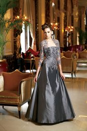 Wholesale Hot High Quality Mother Of The Bride Dress Strapless Sleeveless Mother s Dress With Jack Lace Applique Mother s Formal Wears